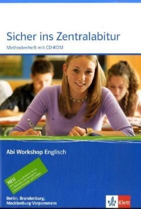 9783126010306: Sicher ins Zentralabitur. Englisch. Arbeitsheft. Berlin, Brandenburg und Mecklenburg-Vorpommern / Mit CD-ROM
