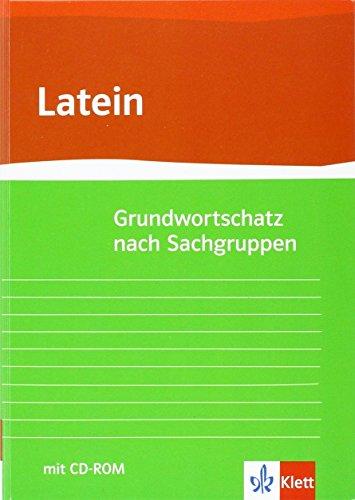 9783126041119: Grund- und Aufbauwortschatz Latein nach Sachgruppen
