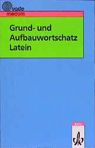 9783126042208: Grund- und Aufbauwortschatz Latein