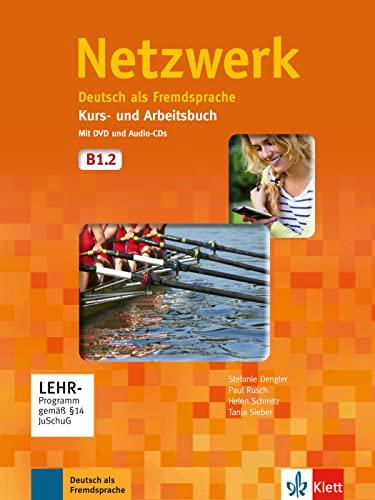 9783126050050: Netzwerk in Teilbanden: Kurs- Und Arbeitsbuch B1 - Teil 2 MIT 2 Audio Cds Und (German Edition)