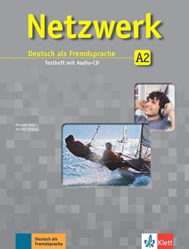 9783126050135: Netzwerk A2. Testheft mit Audio-CD: Deutsch als Fremdsprache