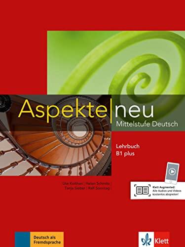 9783126050166: Aspekte Neu: Lehrbuch B1 Plus