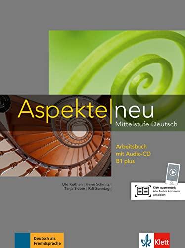 9783126050173: Aspekte neu: Arbeitsbuch B1 plus mit Audio-CD