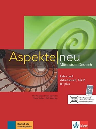 9783126050197: Aspekte Neu in Halbbanden: Lehr- Und Arbeitsbuch B1 Plus Teil 2 MIT CD