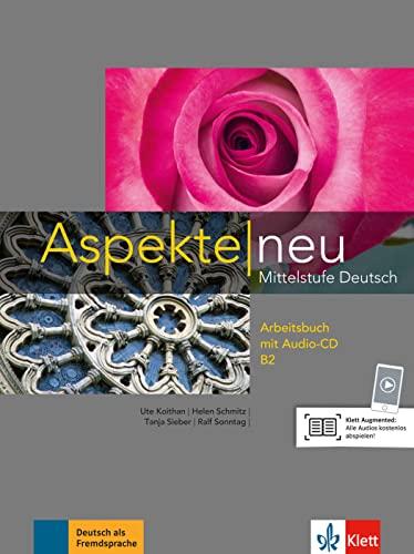 9783126050265: Aspekte Neu Mittelstufe Deutsch B2 Arbeitsbuch + CD [Lingua tedesca]: Vol. 2