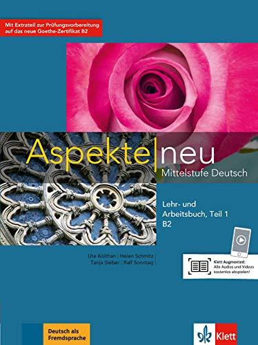 9783126050272: Aspekte neu in Halbbanden: Lehr- und Arbeitsbuch B2 Teil 1 mit CD (ALL NIVEAU ADULTE TVA 5,5%)
