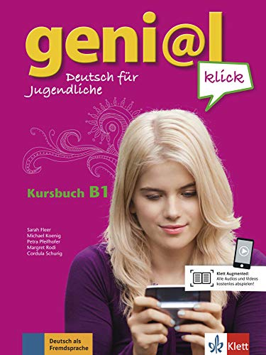 9783126050692: geni@l klick / Kursbuch mit 2 Audio-CDs B1: Deutsch als Fremdsprache für Jugendliche