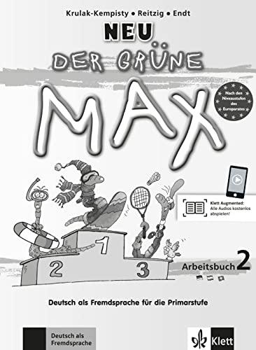 9783126050760: Der grüne max 2 neu, libro de ejercicios + cd