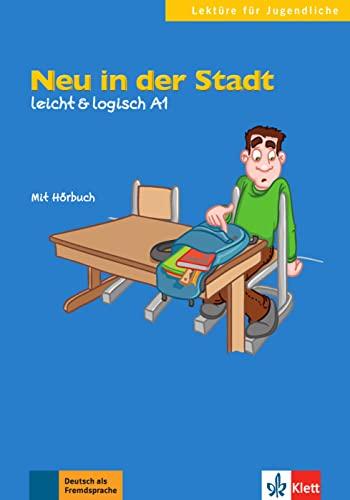9783126051149: Neu in der Stadt. Buch mit Audio-CD: A1 (Lektüre für Jugendliche)