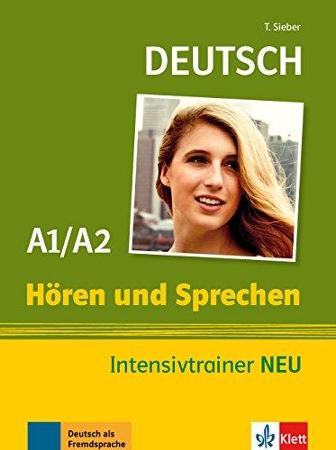 9783126051705: Deutsch Hören und Sprechen A1/A2. Intensivtrainer NEU