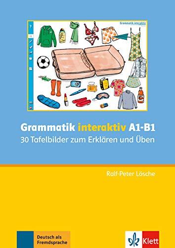 9783126051798: Grammatik Interaktiv A1 - B1: 30 Tafelbilder Zum Erklaren Und Uben CD-ROM (German Edition)