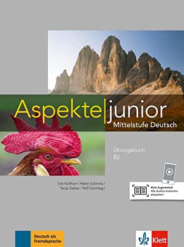 9783126052559: Aspekte junior B2: Mittelstufe Deutsch. Übungsbuch mit Audios [Lingua tedesca]