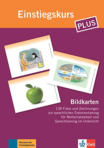 9783126059992: Berliner Platz NEU: Einstiegskurs Plus: Deutsch in Allltag und Beruf . Bildkarten