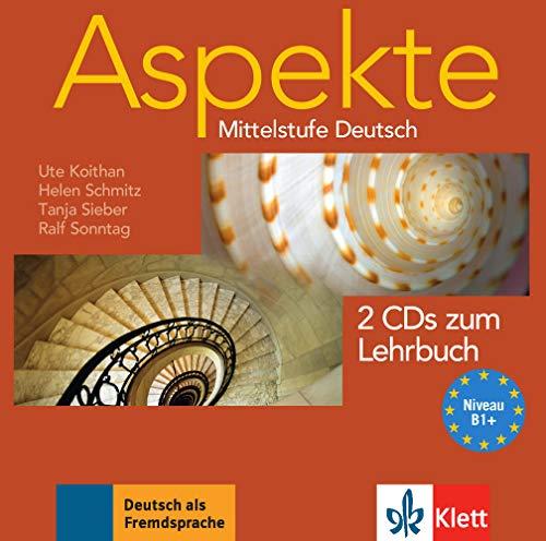 9783126060066: Aspekte 1 (B1+) - 2 Audio-CDs zum Lehrbuch 1: Mittelstufe Deutsch