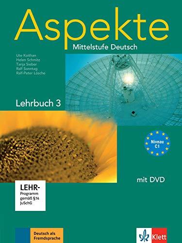 9783126060202: Aspekte: Lehrbuch 3 MIT DVD (German Edition)