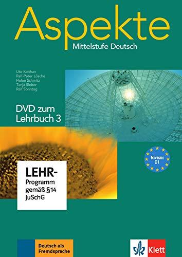9783126060219: Aspekte 3 (C1) - DVD zum Lehrbuch 3: Mittelstufe Deutsch