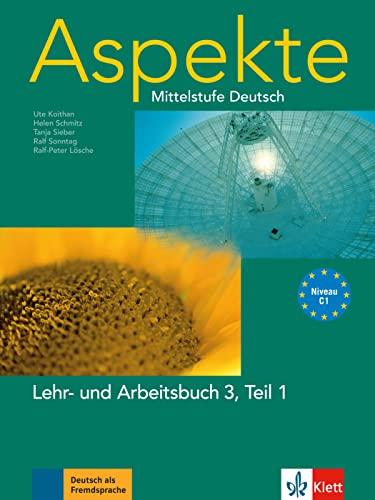 9783126060233: Aspekte in Halbbanden: Lehr- Und Arbeitsbuch 3 Teil 1 (German Edition)