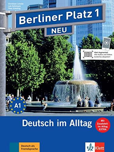 9783126060264: Berliner Platz 1 NEU - Lehr- und Arbeitsbuch 1 mit 2 Audio-CDs und : Deutsch im Alltag
