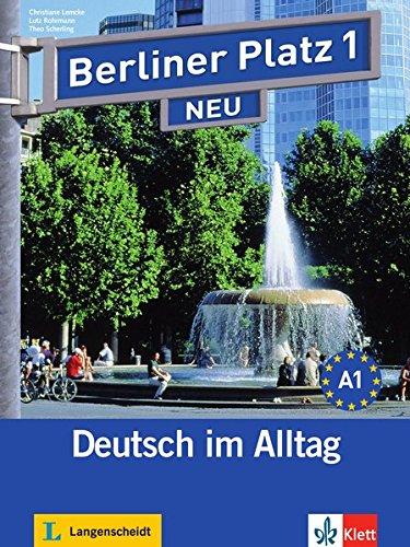 9783126060288: Berliner Platz Neu: Lehr- Und Arbeitsbuch 1 MIT 2 Audio-cds Und Treffpunkt D-A-Ch (German Edition)