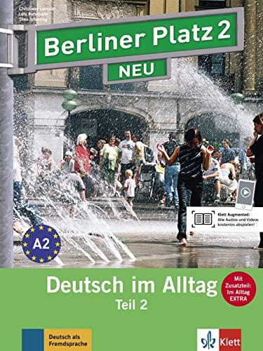 9783126060707: Berliner Platz NEU in Teilbanden: Lehr- und Arbeitsbuch 2 Teil 2 mit Audio-CD
