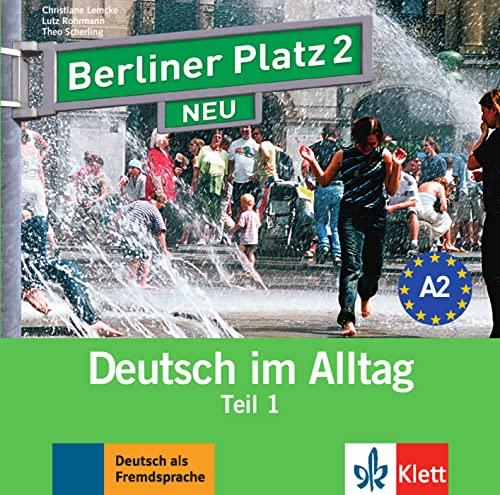 9783126060714: Berliner Platz NEU in Teilbanden: Audio-CD zum Lehrbuch 2 Teil 1