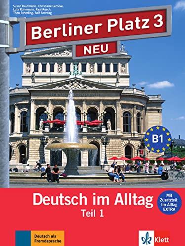 9783126060738: Berliner platz 3 neu, libro del alumno y libro de ejercicios, parte 1 + cd
