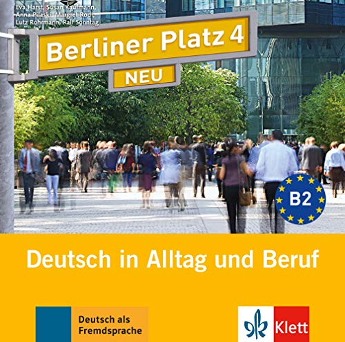 9783126060790: Berliner Platz 4 NEU - 2 Audio-CDs zum Lehrbuchteil: Deutsch in Alltag und Beruf
