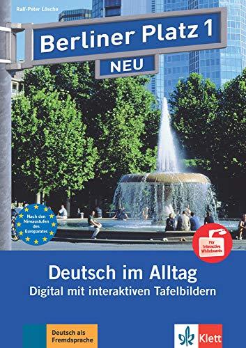 9783126060844: Berliner Platz Neu: Tafelbilder Fur Interaktive Whiteboards Auf Dvd-rom 1 2014 (German Edition)