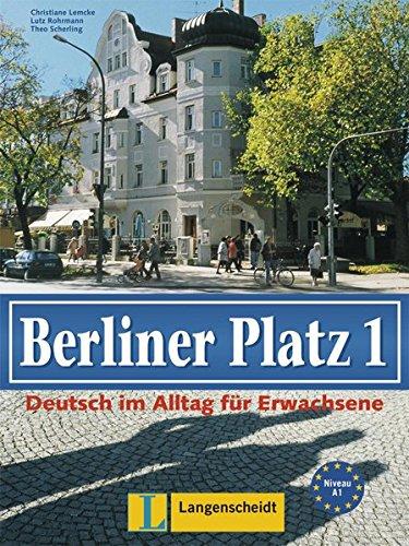 9783126060868: Berliner Platz: Lehr- und Arbeitsbuch 1