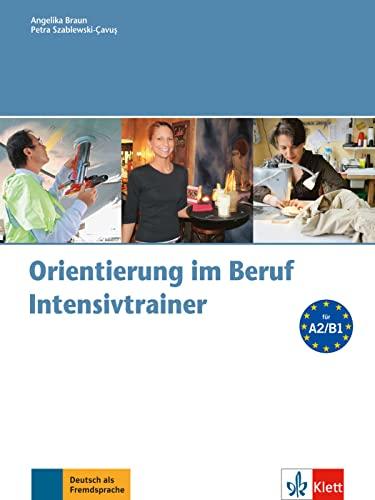 9783126061223: Orientierung im Beruf - Intensivtrainer mit Audio-CD