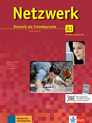 9783126061292: Netzwerk A1. Kursbuch. Per le Scuole superiori. Con CD-ROM. Con espansione online: Netzwerk a1, libro del alumno + 2 cd + dvd