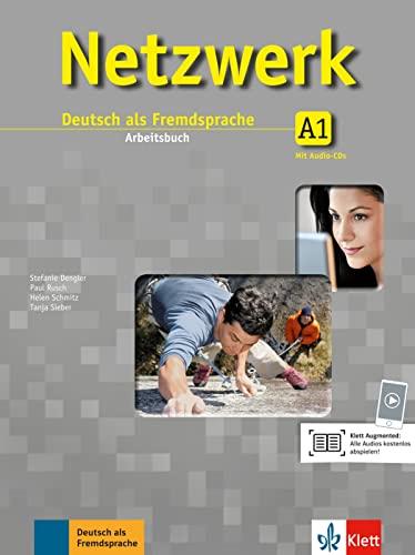 9783126061308: Netzwerk: Arbeitsbuch A1 MIT 2 Audio-Cds (German Edition)