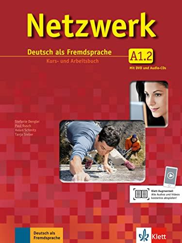 9783126061322: Netzwerk A1 in Teilbänden - Kurs- und Arbeitsbuch, Teil 2 mit 2 Audio-CDs und DVD : Deutsch als Fremdsprache