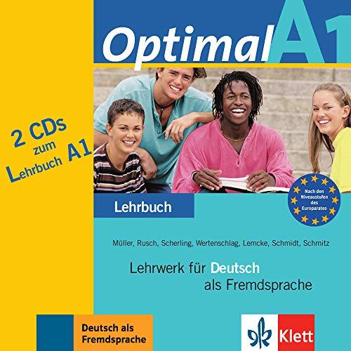 9783126061476: Optimal A1 - 2 Audio-CDs zum Lehrbuch A1: Lehrwerk für Deutsch als Fremdsprache
