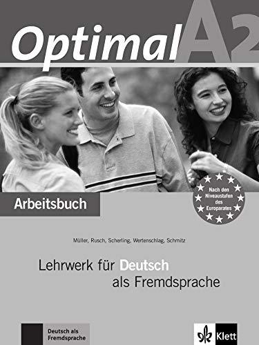 9783126061582: Optimal: Arbeitsbuch A2 MIT Audio-CD (German Edition)