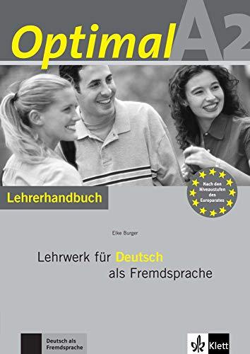 9783126061599: Optimal A2 - Lehrerhandbuch A2 mit Lehrer-CD-ROM: Lehrwerk für Deutsch als Fremdsprache