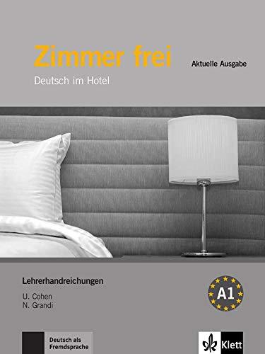 9783126061780: Zimmer frei - Aktuelle Ausgabe - Lehrerhandreichungen: Deutsch im Hotel