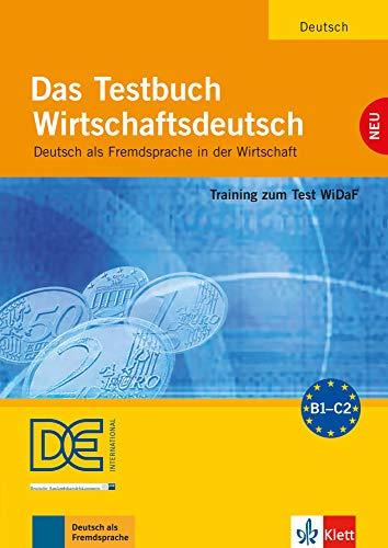 9783126061841: Das Testbuch Wirtschaftsdeutsch - Testbuch mit Audio-CD: Training zum Test WiDaF