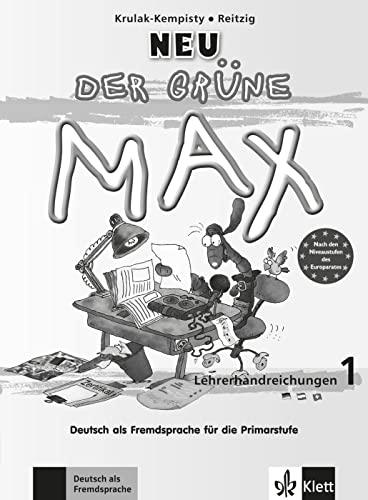 9783126061940: Der Grune Max Neu: Lehrerhandreichungen 1 (German Edition)