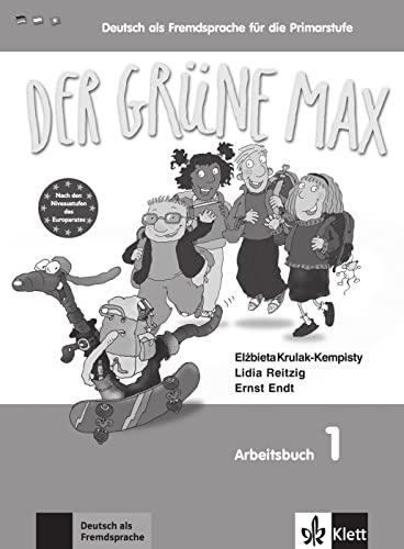 9783126061995: Der grüne Max 1 - Arbeitsbuch 1 mit Audio-CD
