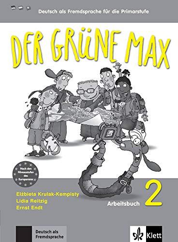 9783126062060: Der grüne Max 2 - Arbeitsbuch 2 mit Audio-CD: Deutsch als Fremdsprache für die Primarstufe