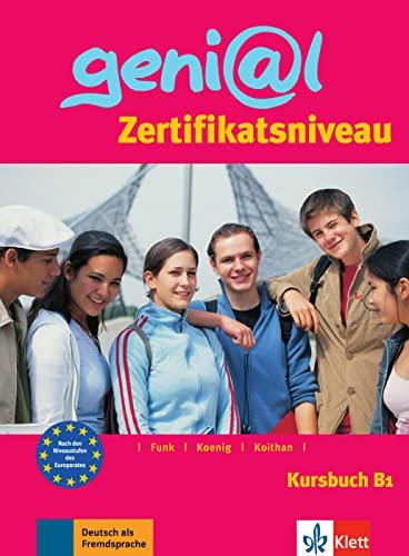 9783126062152: Genial: Kursbuch B1 - Zertifikatsniveau (German Edition)