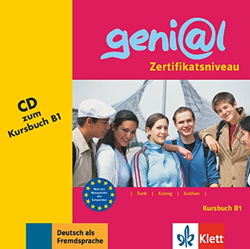 9783126062183: Genial: CD Zum Kursbuch B1 (German Edition)