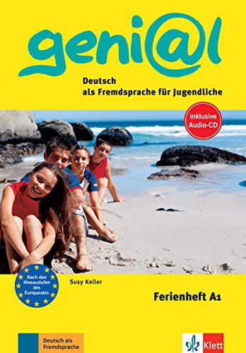 9783126062589: Ferienheft geni@l. A1. Con CD. Per la Scuola media