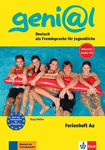 Ferienhefte Geni@L: Ferienheft A2 MIT CD (Mixed: Susy Keller