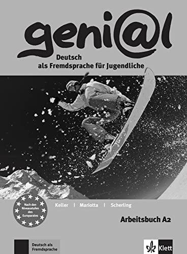 9783126062626: Genial: Arbeitsbuch A2 mit Audio-CD