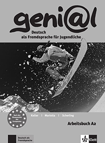geni@l A2 - Arbeitsbuch A2 mit Audio-CD: Mariotta, Maruska, Keller,