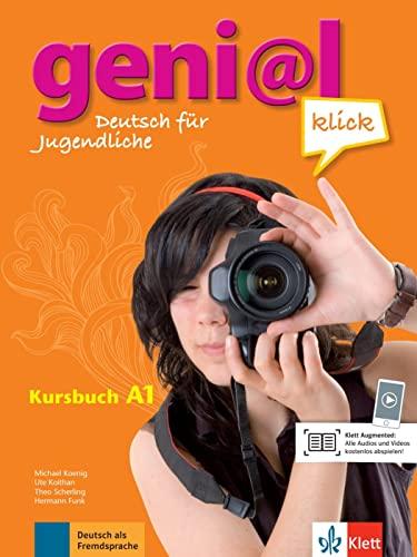 geni@l klick A1 - Kursbuch mit 2: Funk, Hermann, Koenig,