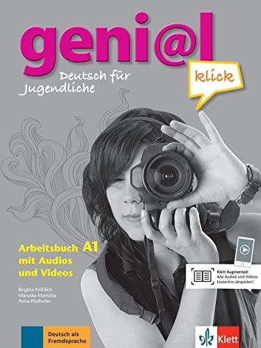 9783126062817: Geni@l klick. A1. Arbeitsbuch. Per la Scuola media. Con 2 CD Audio [Lingua tedesca]: Deutsch als Fremdsprache für Jugendliche