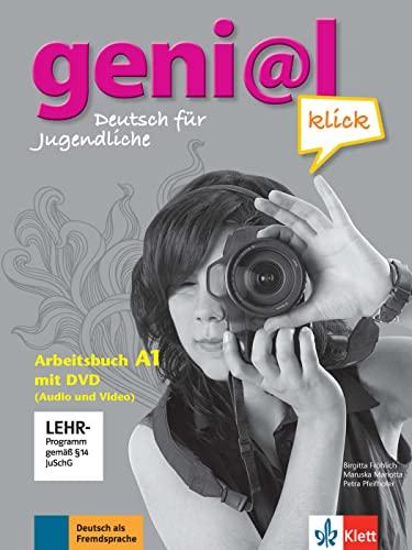 9783126062824: geni@l klick A1 - Arbeitsbuch mit DVD-ROM: Deutsch als Fremdsprache für Jugendliche